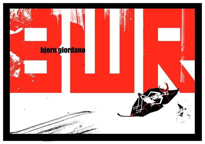 """Lo Spazio Bianco presenta: """"Black, White and Red"""" di Bjorn Giordano"""