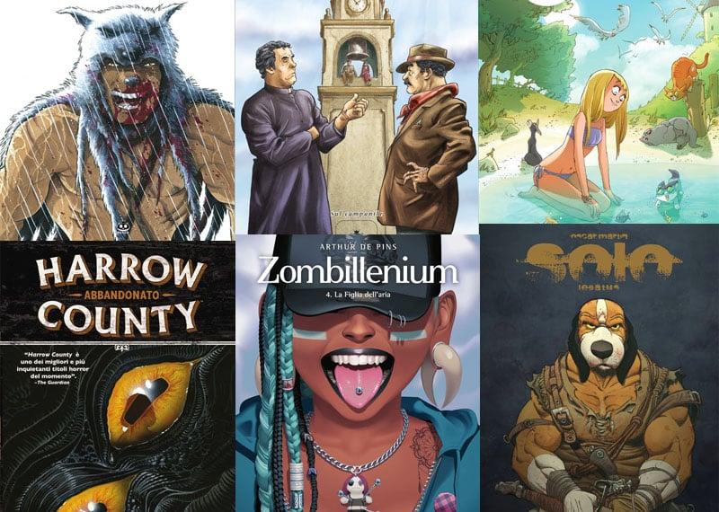 Le novità ReNoir Comics in libreria da marzo 2019