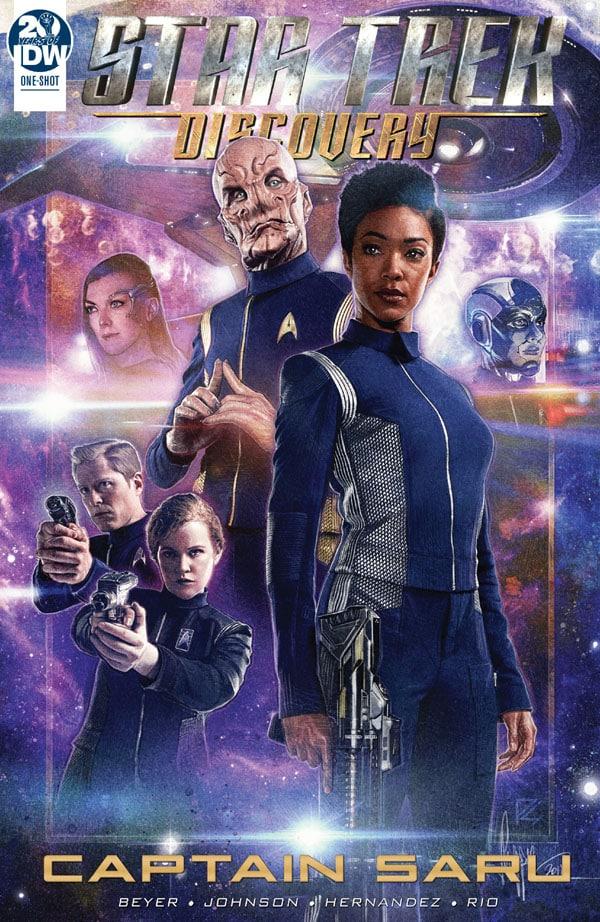 Star-Trek-Captain-Saru_First Issue