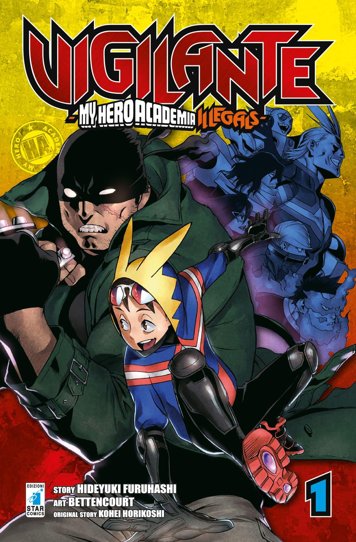 Gli autori di Vigilante – My Hero Academia Illegals, saranno ospiti di COMICON
