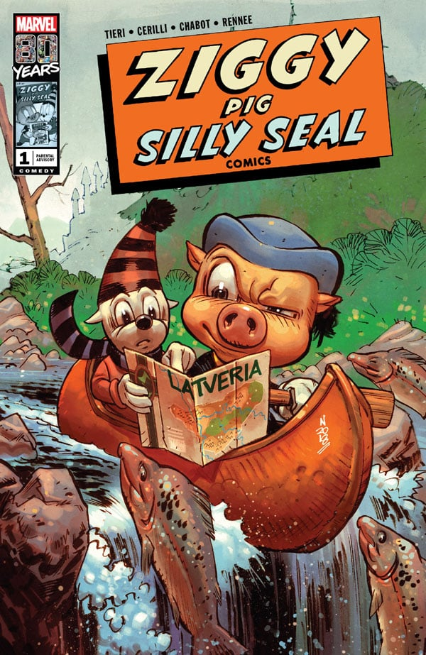 Ziggy Pig - Silly Seal Comics 1