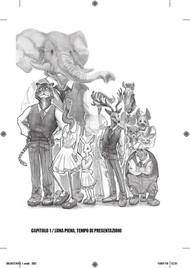 Anteprima Beastars #1: un manga contro le discriminazioni_Anteprime