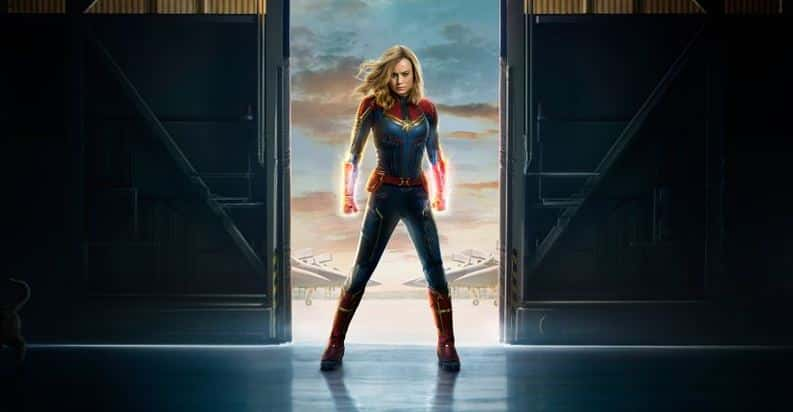 Captain Marvel domina nel secondo week-end al Box Office USA