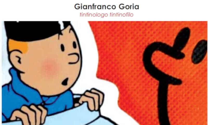 Come parlare di Tintin in pubblico: la versione di Goria
