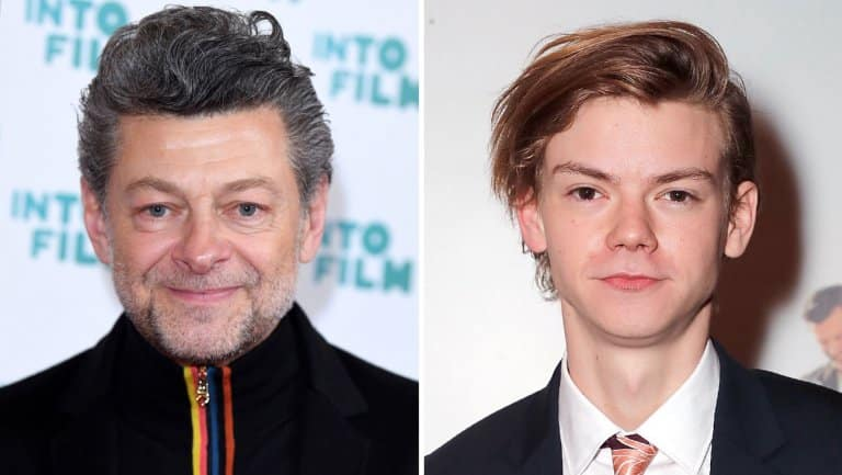 Andy Serkis e Thomas Brodie-Sangster nel cast di Mouse Guard