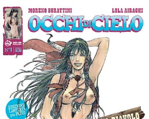 """Cut Up Publishing pubblica """"Occhi di Cielo"""" di Moreno Burattini e Lola Airaghi"""