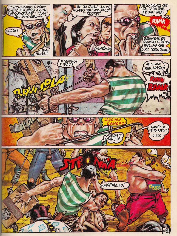 Stefano Tamburini e Tanino Liberatore – Ranxerox_Essential 300 comics