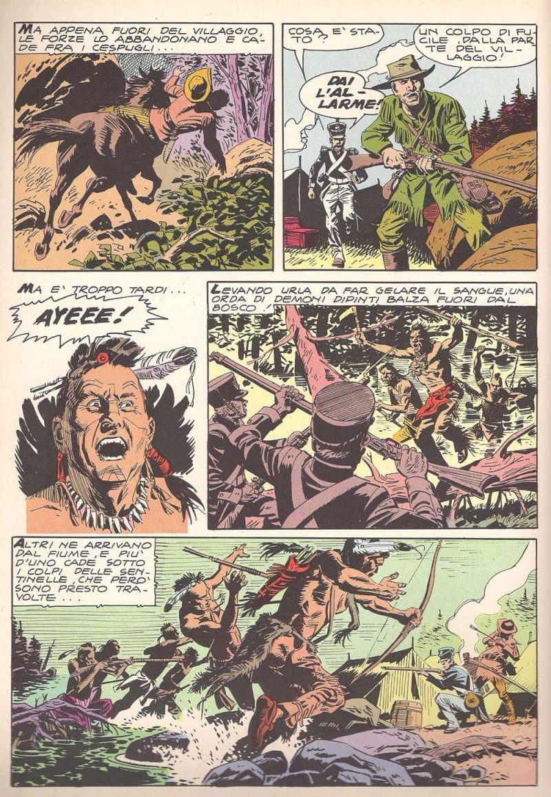 Gino D'Antonio - Guerrieri del West_Essential 300 comics