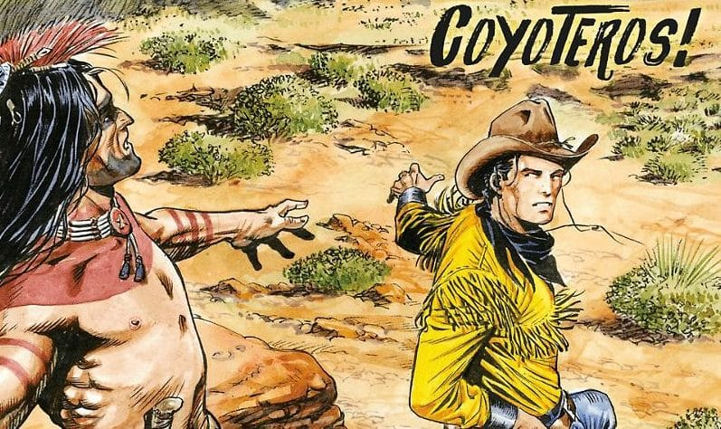 Tex Willer #6 – Coyoteros (Boselli, Brindisi)