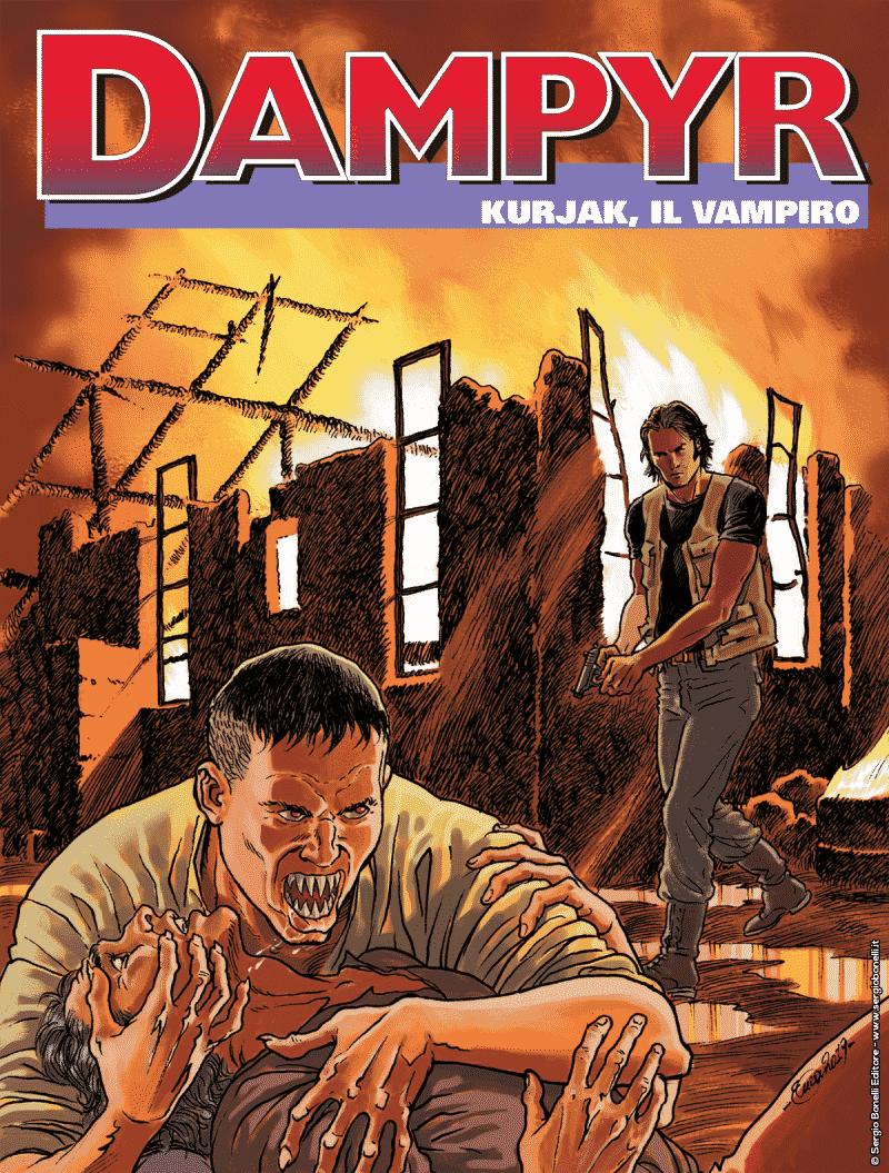Dampyr #229 - Kurjak, il vampiro (Di Gregorio, Bartolini)_BreVisioni