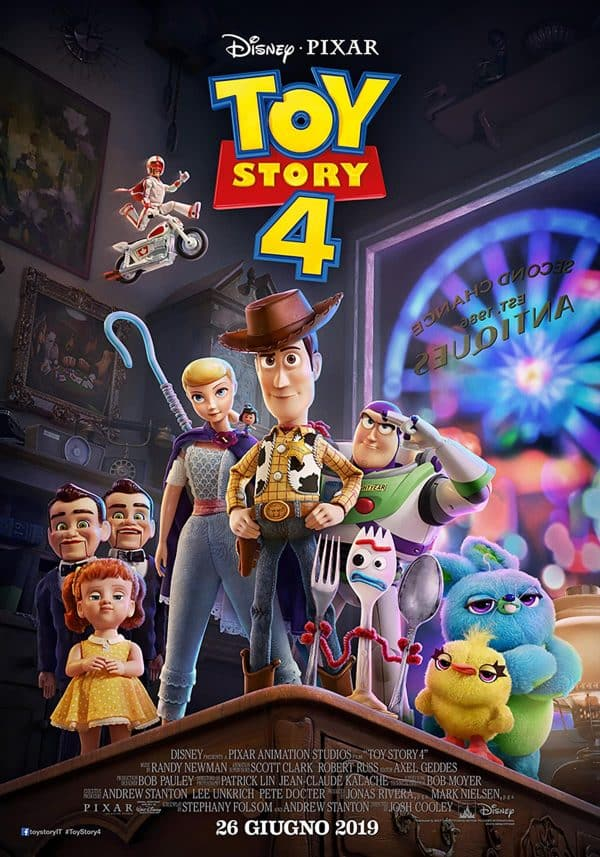 Toy Story 4: il nuovo poster e il nuovo trailer del film Pixar/Disney_Notizie