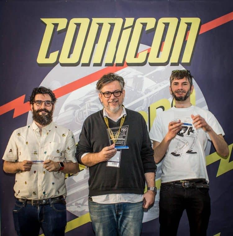 COMICON: i vincitori dei Premi COMICON Pro