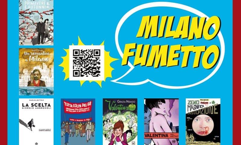 """Nuova edizione a fumetti per """"Milano da Leggere"""""""