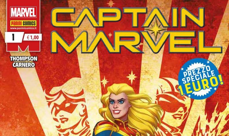 Panini Comics lancia una nuova serie di Captain Marvel