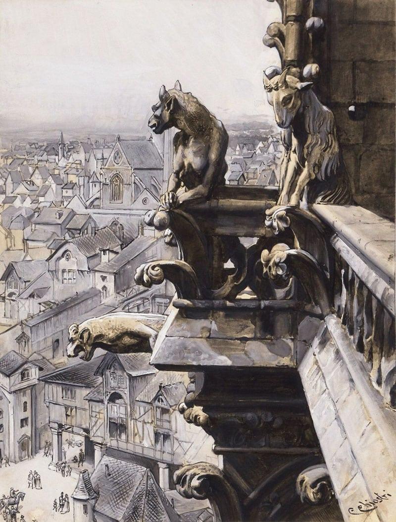 Lotto 103 - Chiostri - Notre Dame de Paris
