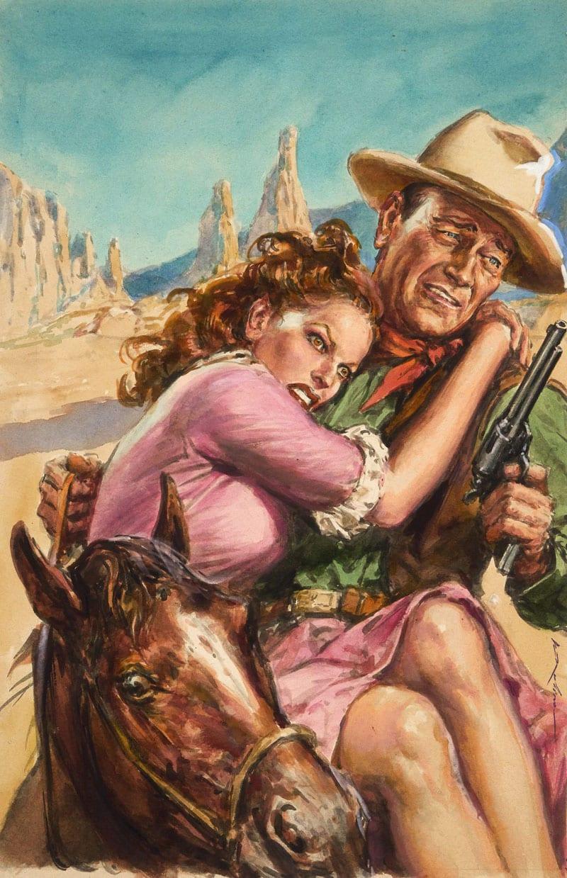 Lotto 190 - Molino - John Wayne e Maureen O_Hara
