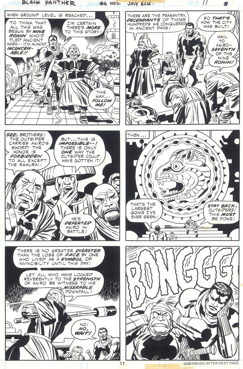 Lotto 343 - Kirby - Black Panther
