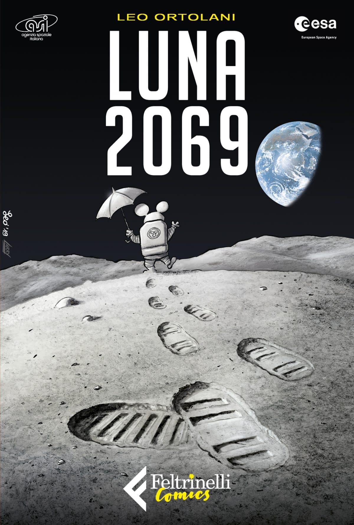 """Feltrinelli Comics: Rat-Man torna nello spazio con """"Luna 2069"""""""