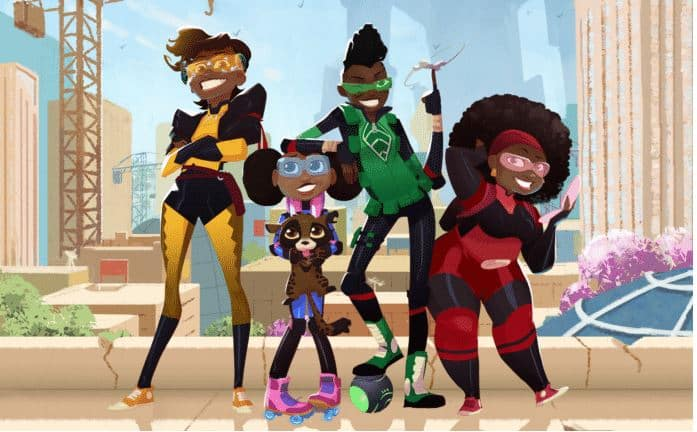 Netflix lancia Mama K's Team, serie animata su supereroi africani