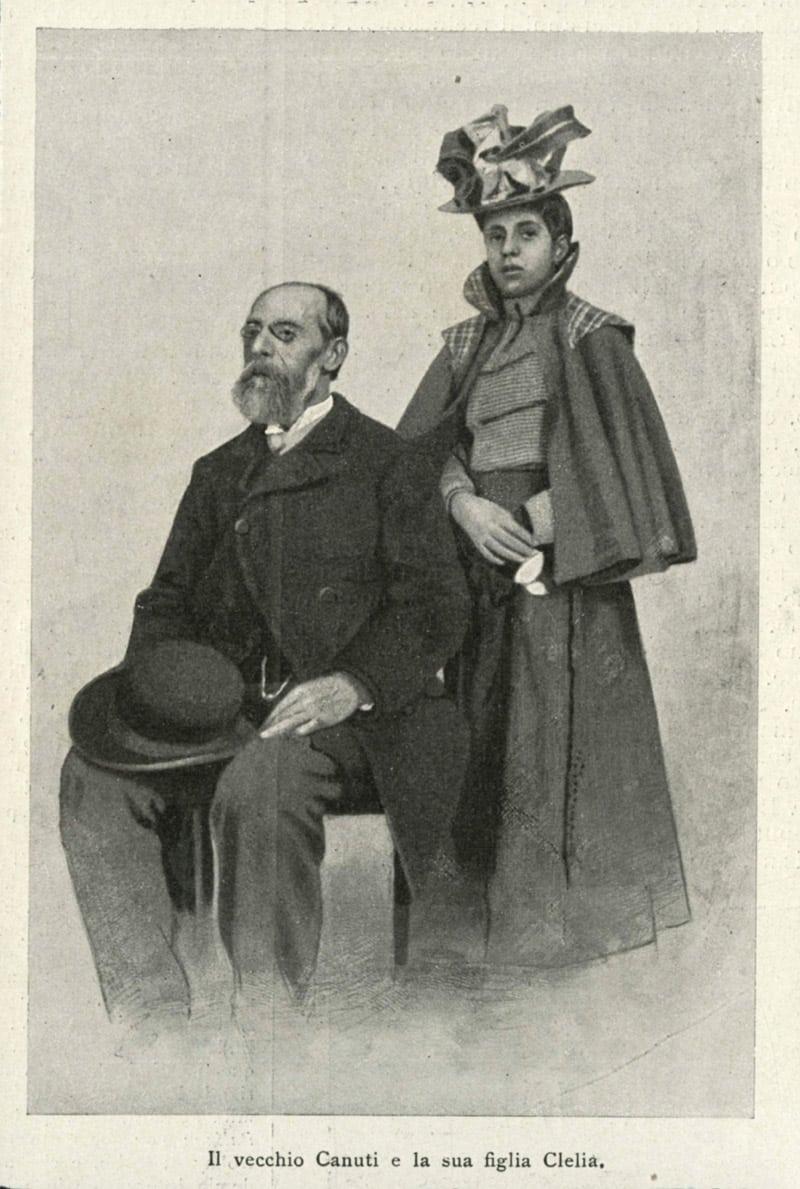 Padre e sorella Isolina