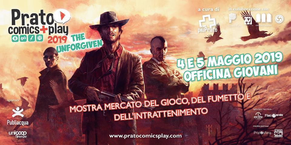 Torna Prato Comics + Play il 4 e 5 maggio 2019