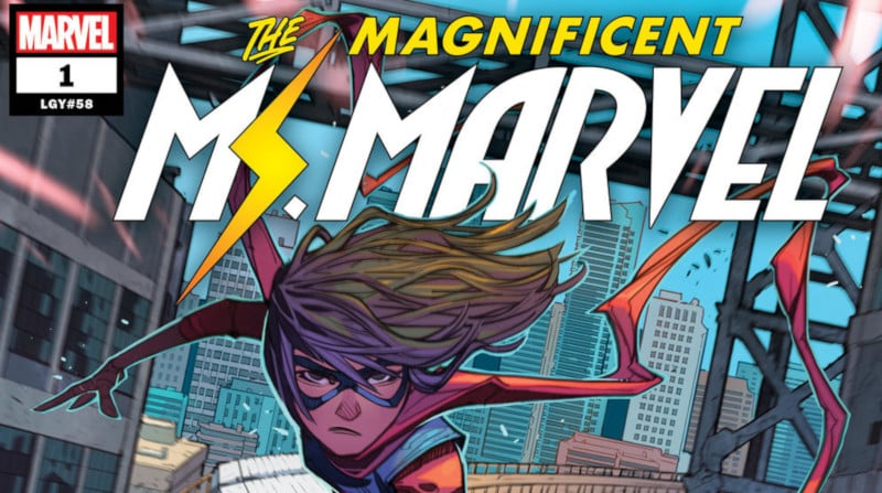 First Issue Presents: lunga vita a Ms. Marvel!