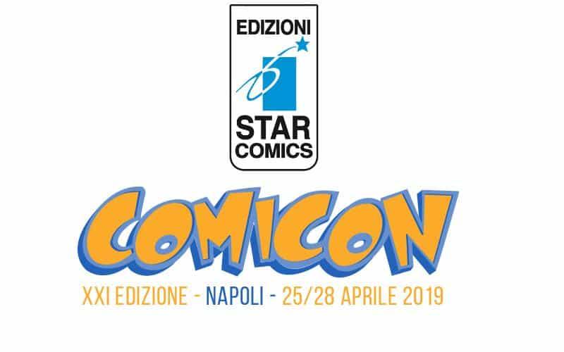 Star Comics al Napoli Comicon 2019