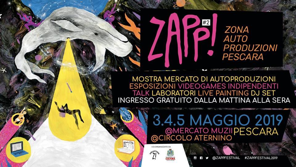 ZAPP! Il festival di autoproduzioni torna a Pescara_Notizie
