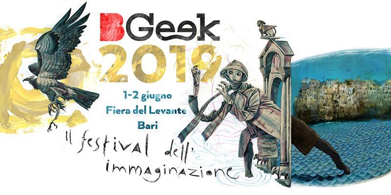 Tutto pronto per l'edizione 2019 del BGeek di Bari