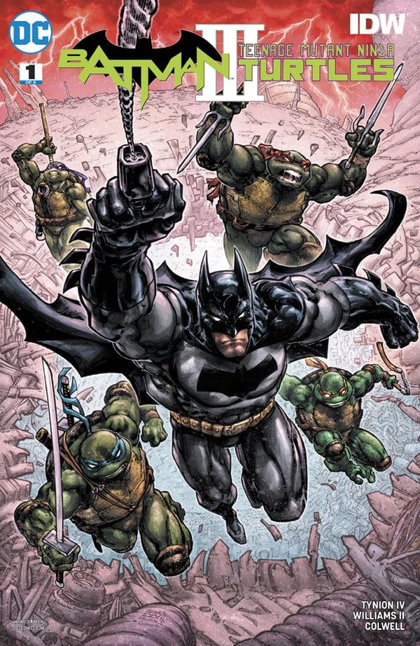 Batman-Teenage Mutant Ninja Turtles III 1