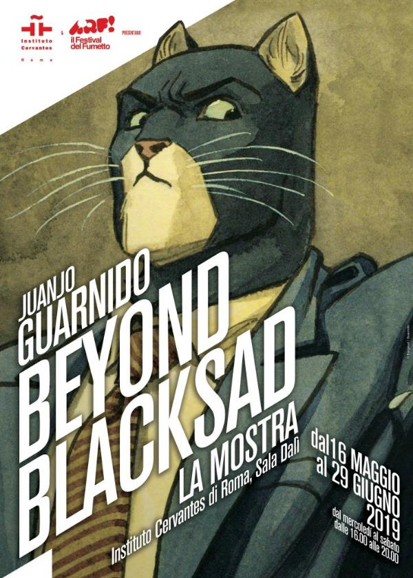 """Beyond Blacksad"", Juanjo Guarnido in mostra a Roma_Notizie"