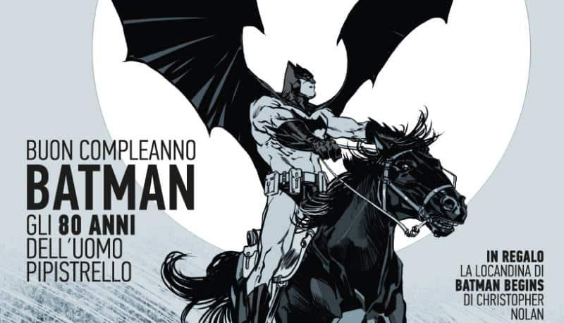 Film Tv dedica un numero speciale agli 80 anni di Batman