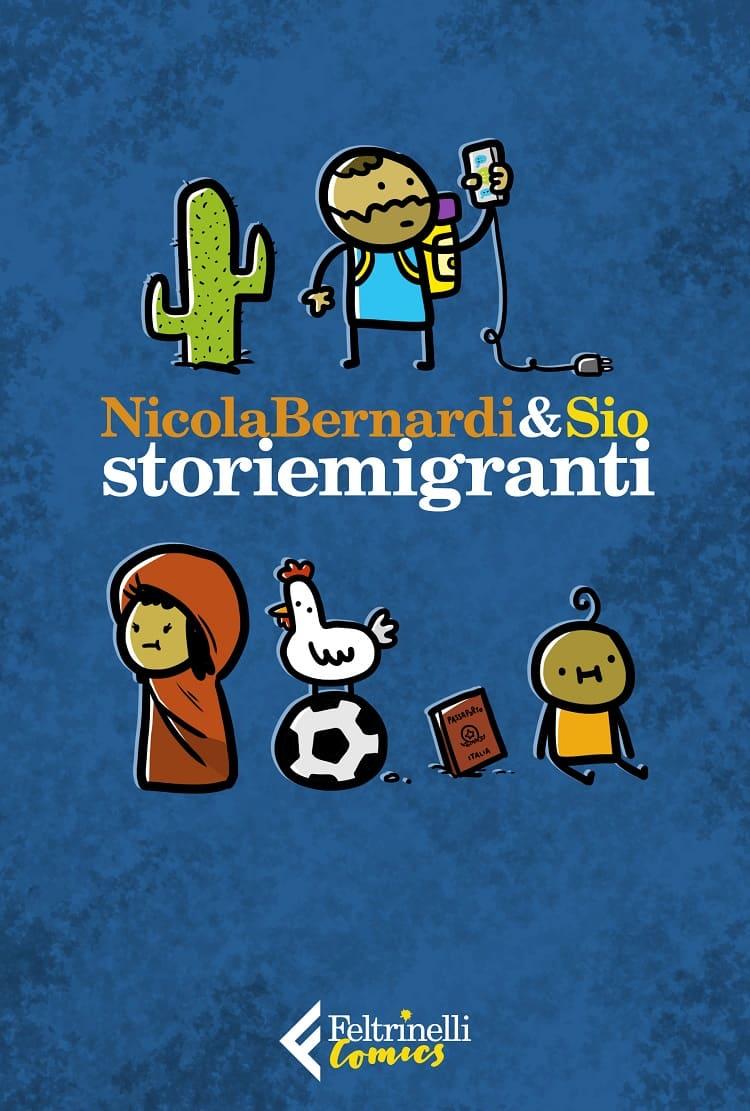 "Feltrinelli Comics presenta ""Storiemigranti"" di Nicola Bernardi e Sio"