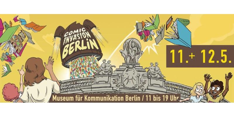 Comicinvasion Berlin l'11 e il 12 maggio al Museum für Kommunikation