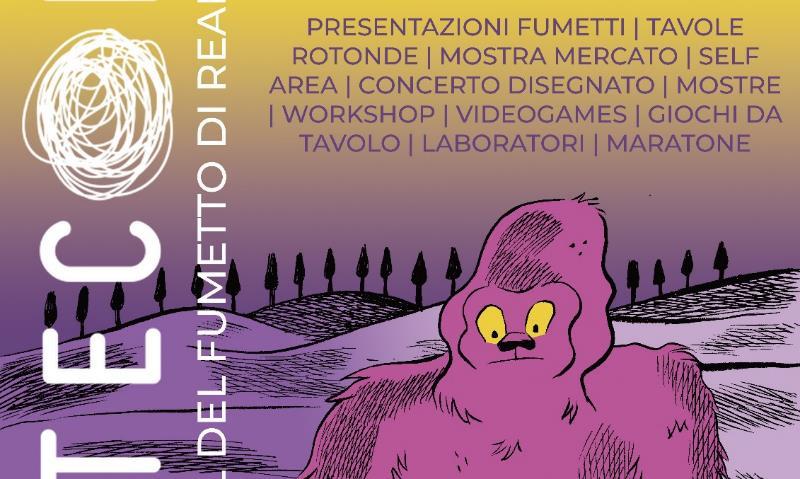 Torna CreteCon, festival di fumetto di realtà, ad Asciano (SI)