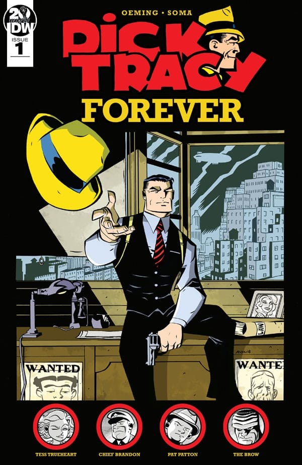 Dick-Tracy-Forever-1_First Issue