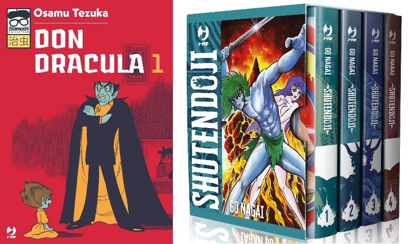 "Per J-POP Manga: ""Don Dracula"" di Tezuka e ""Shutendoji"" di Go Nagai"
