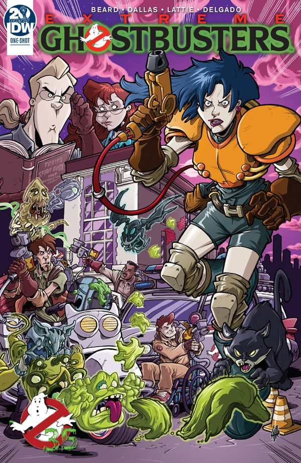 Ghostbusters- 35th Anniversary - Extreme Ghostbusters
