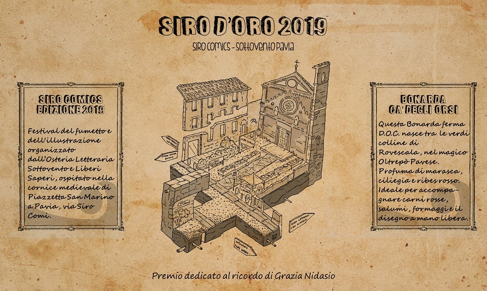 Pavia da il benvenuto alla prima edizione del Siro D'Oro