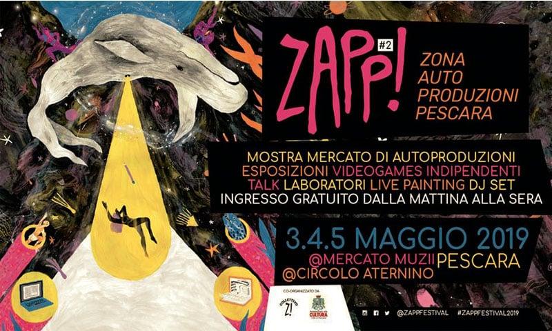 ZAPP! Il festival di autoproduzioni torna a Pescara