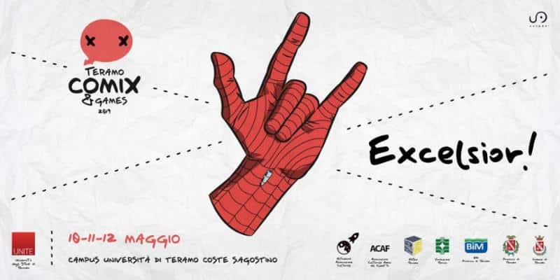 Excelsior! La ventisettesima edizione di Teramo Comix & Games