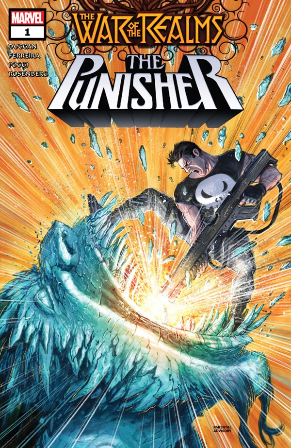 War Of The Realms - Punisher 1