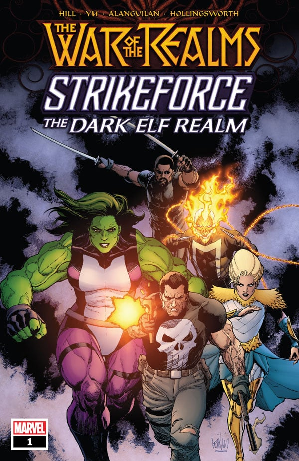 War-Of-The-Realms-Strikeforce-The-Dark-Elf-Realm-1_First Issue