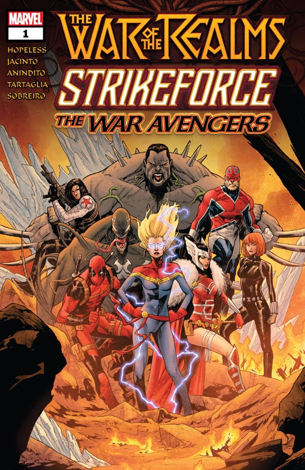 War-Of-The-Realms-Strikeforce-The-War-Avengers-1_First Issue