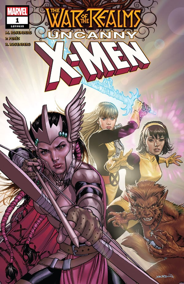 War Of The Realms - Uncanny X-Men 1