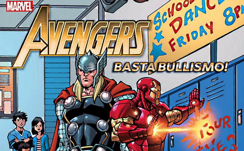 Avengers: Basta bullismo! Un albo speciale con introduzione di J.Ax
