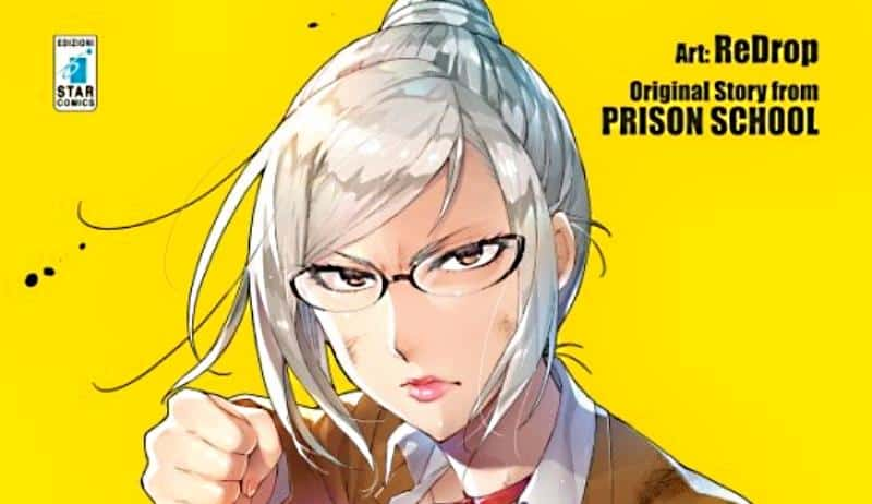 """Da Akira Hiramoto uno spin-off di """"Prison School"""", edito da Star Comics"""