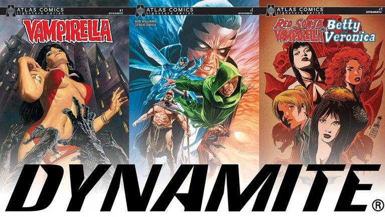 Atlas Comics: scontro sul brand tra Paramount e Dynamite