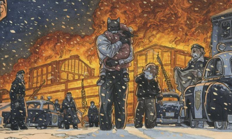 """Beyond Blacksad"", Juanjo Guarnido in mostra a Roma"