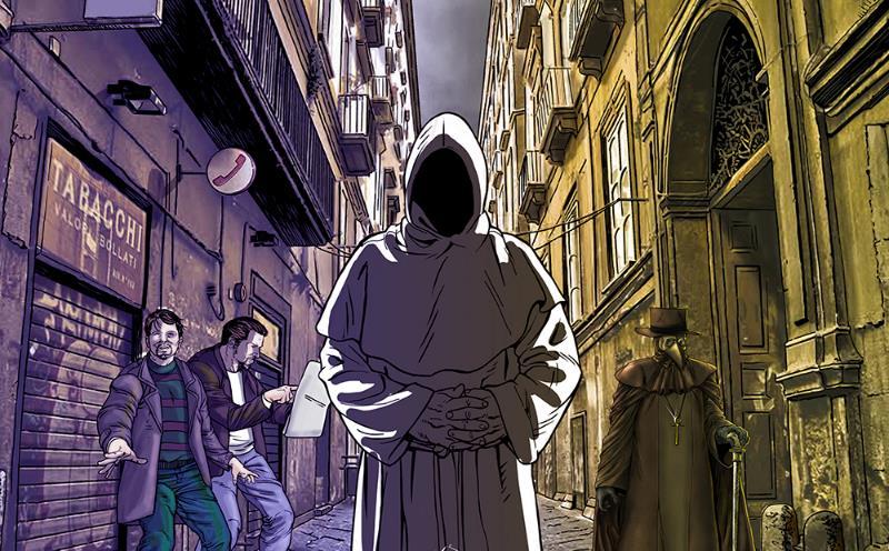 """La Napoli del mistero a fumetti: esce """"Leggende napoletane"""""""